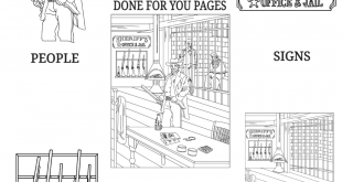 Wild-West-Coloring-Pack-PLR-Review